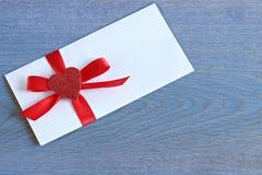 White envelope Royalty Free Stock Photography