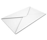White envelope. Render on a white background Stock Photos