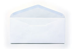 White envelope on white background Stock Photos