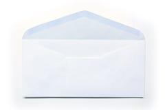 White envelope on white background Stock Photos