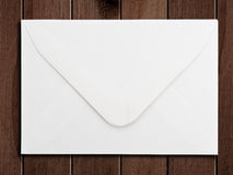 White envelope. Royalty Free Stock Photo
