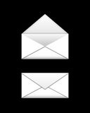 White envelopes Stock Photography