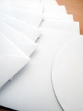 White Envelopes Royalty Free Stock Photo