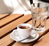 White espresso cup Stock Image
