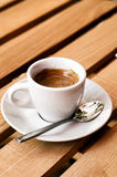 White espresso cup Royalty Free Stock Images
