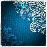 White ethnic ornament Royalty Free Stock Images