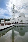 white för 01 moské Arkivfoto