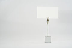 white för affärskort Royaltyfri Fotografi