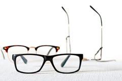 white för avläsning för exponeringsglas för bakgrund 3d model Arkivfoton