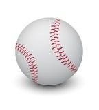 white för bakgrundsbollbaseball Stock Illustrationer