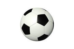 white för bakgrundsbollfotboll Royaltyfria Bilder
