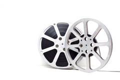 white för bakgrundsfilmrulle arkivbilder