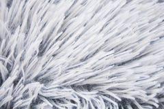 white för bakgrundspälstextur Royaltyfri Bild
