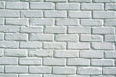 white för bakgrundstegelstenvägg Arkivfoto