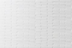 white för bakgrundstegelstenvägg Arkivbild