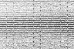 white för bakgrundstegelstenvägg Royaltyfri Foto