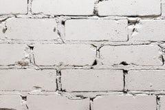 white för bakgrundstegelstenvägg Royaltyfri Bild