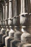 white för barock closeup för trappräcke gammal Arkivbilder