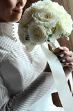 white för bröllop för bakgrundsbild Royaltyfria Bilder