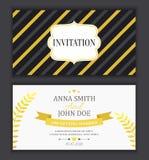 white för bröllop för vektor för inbjudan för bakgrundskortteckningar Arkivbilder