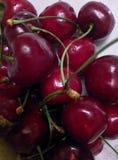 white för Cherryisolering sött Royaltyfri Foto