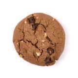 white för chipchokladkaka Arkivfoto