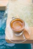 white för espresso för kaffekopp Royaltyfri Bild