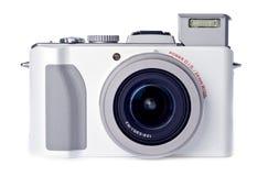 white för for för isolerad punkt för kamera digital royaltyfri bild