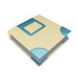white för foto för illustration för albumbakgrundsdesign royaltyfri illustrationer