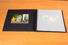 white för foto för illustration för albumbakgrundsdesign Arkivbild