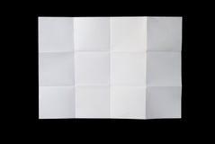 white för grupppapper royaltyfri bild