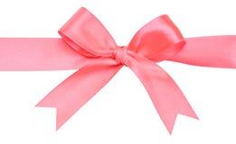 white för härlig bow för bakgrund röd Royaltyfria Bilder