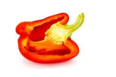 white för half over peppar för 10 eps röd Arkivfoto
