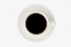 white för isolate för bakgrundskaffekopp Royaltyfri Bild