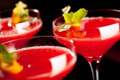 white för jordgubbe för alkoholbakgrundsmargarita Royaltyfria Bilder