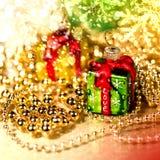 white för juldekorisolering Royaltyfria Bilder