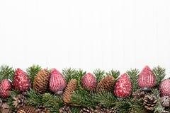 white för juldekorisolering kortjul som greeting Symbolxmas Arkivbild