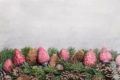 white för juldekorisolering kortjul som greeting Symbolxmas Royaltyfria Bilder