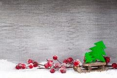 white för juldekorisolering kortjul som greeting Symbolxmas Royaltyfri Bild