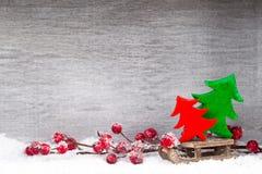 white för juldekorisolering kortjul som greeting Symbolxmas Royaltyfri Foto