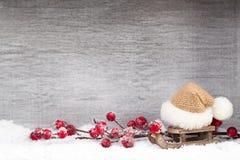 white för juldekorisolering kortjul som greeting Symbolxmas Arkivfoto