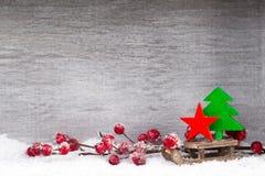white för juldekorisolering kortjul som greeting Symbolxmas Fotografering för Bildbyråer