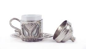 white för kaffekopp Royaltyfri Fotografi