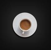 white för kaffekopp Royaltyfri Foto