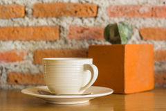 white för kaffekopp Royaltyfria Foton
