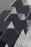 white för kontor för bakgrundsbyggnadsfragment exponeringsglas isolerad Royaltyfria Foton
