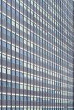white för kontor för bakgrundsbyggnadsfragment exponeringsglas isolerad Royaltyfri Fotografi