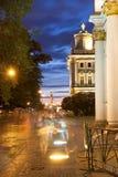 white för nattpetersburg st Statlig eremitboning Royaltyfri Bild
