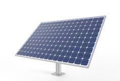 white för panel för bild för bakgrund 3d isolerad sol- sol- cell illustr 3d Arkivfoto