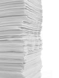 white för paper bunt royaltyfri foto
